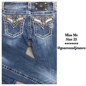 Miss Me Boot Jeans Size 25